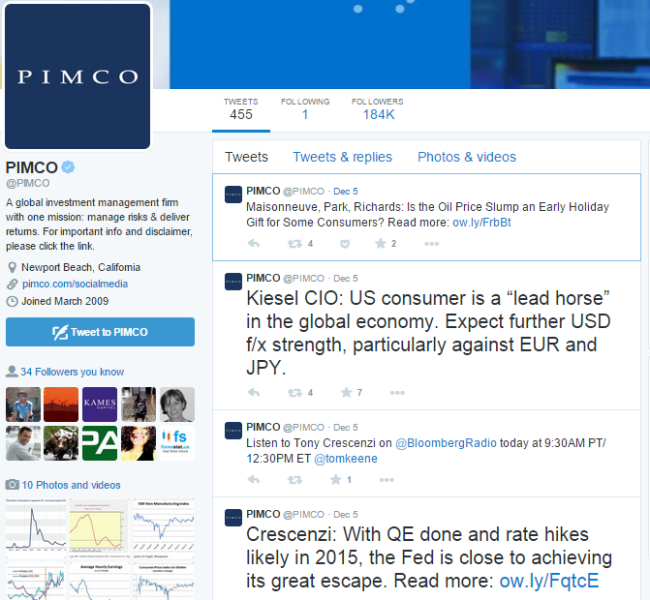pimco twitter page